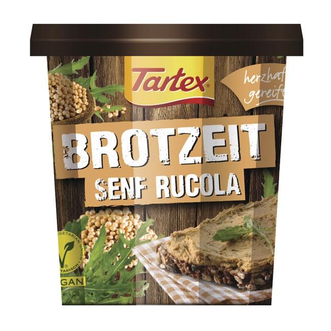 Bio Pastete mit Senf und Rucola von Tartex (125g)