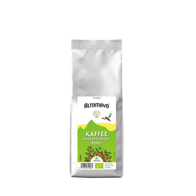 Altomayo Kaffee gemahlen 500g entkoffeiniert