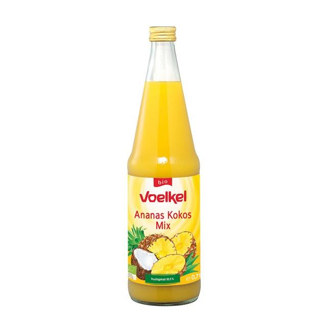 Voelkel Ananas Kokos Mix Saft, bio 0,7l