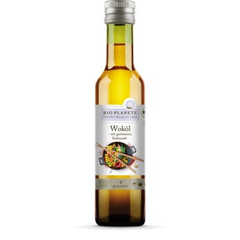 Bio Planète : Woköl mit geröstetem Erdnussöl, bio (250ml)