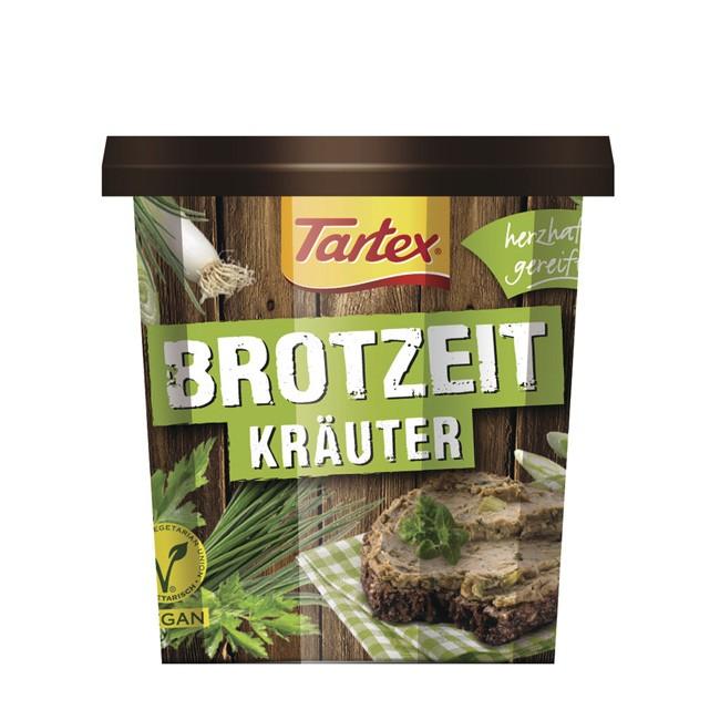 Bio Pastete mit Kräutern von Tartex (125g)