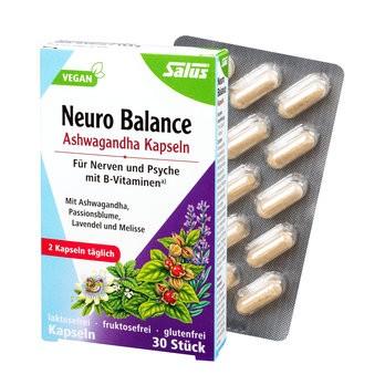 Salus : Neuro Balance Ashwagandha Kapseln (30 Stk)