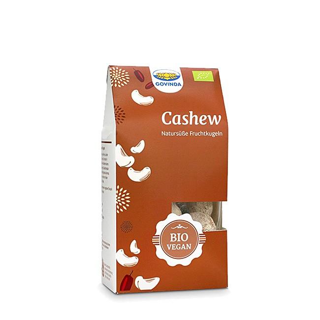 Govinda bio Cashew-Kugeln 120g, glutenfreies Konfekt