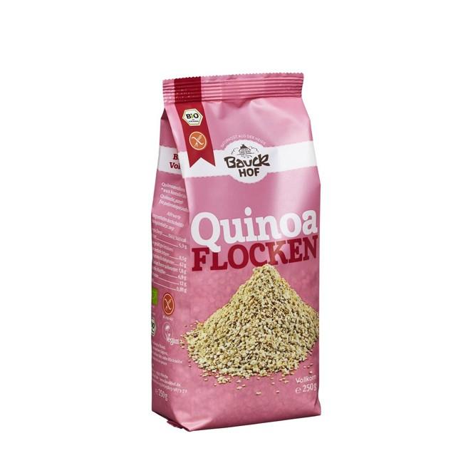 Bauckhof glutenfreie Quinoa Flocken 250g