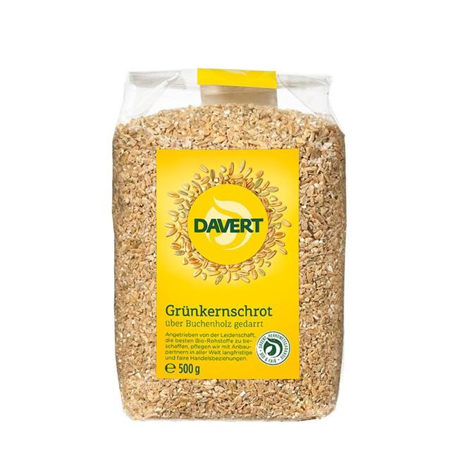 500g Grünkernschrot von Davert Bio Qualität