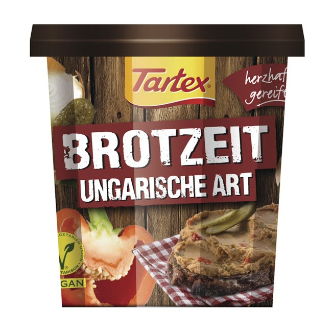 Bio Pastete Ungarische Art von Tartex (125g)