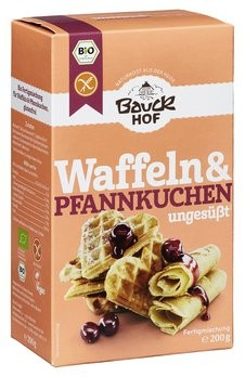 Bauckhof : Glutenfreie Waffeln & Pfannkuchen, bio (200g)