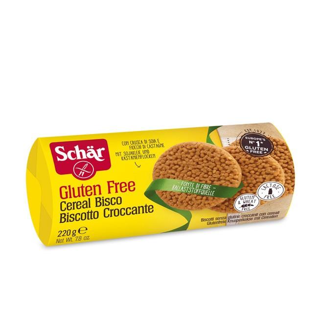 Dr.Schär Cereal Bisco Glutenfrei Knusperkekse mit Cerealien 220g