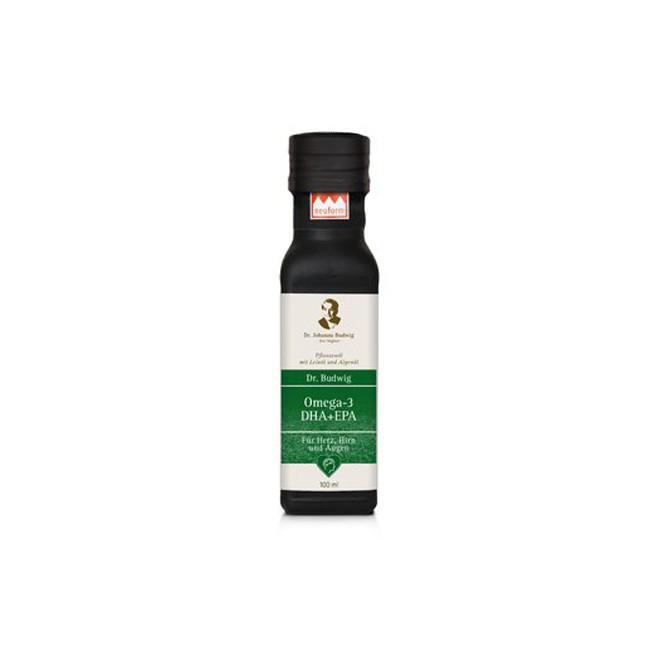 Dr. Budwig: Omega 3 - DHA + EPA, bio (100ml)
