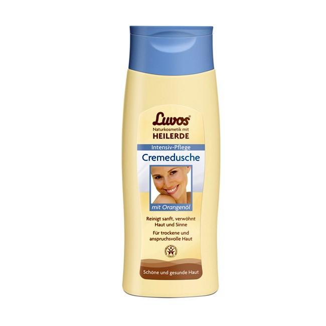 Intensive Pflege mit Luvos Cremedusche mit Orangenöl 200ml