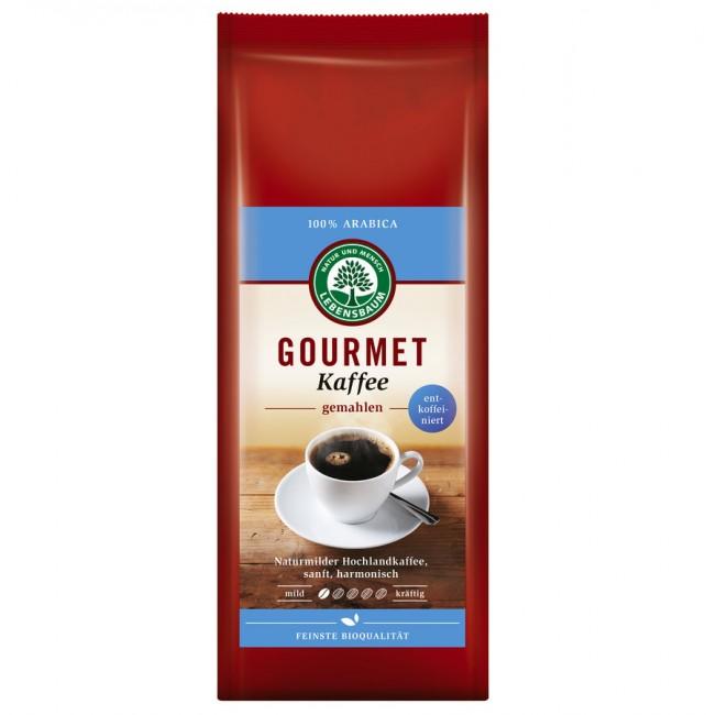 Lebensbaum : Gourmet Kaffee gemahlen, entkoffeiniert, bio (250g)