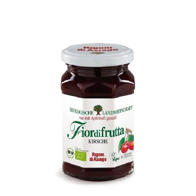 Bio Kirsche Fruchtaufstrich - kosher und vegan von Fiordifrutta