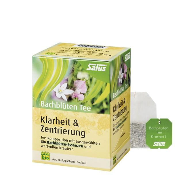SALUS Bachblüten Tee Klarheit & Zentrierung im Filterbeutel