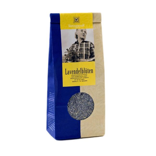 Sonnentor Bio Lavendelblüten 70g lose - zum Backen und für Tee oder Lavendelsäckchen