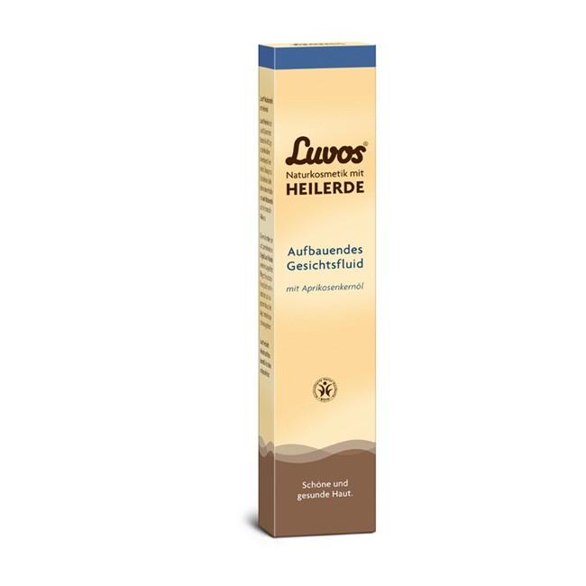aufbauendes Gesichtsfluid (50ml) von LUVOS Heilerde - ohne Tönung