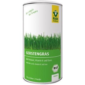 Raab : Gerstengras Pulver, bio (140g)