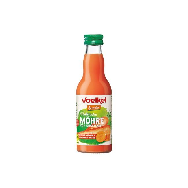 Voelkel : Feldfrischer Möhrensaft Demeter (0.2l Pfandflasche)**