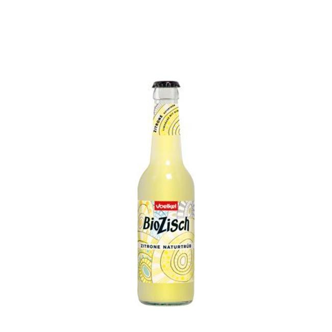 Voelkel : BioZisch Zitrone naturtrüb, bio (0,33l)
