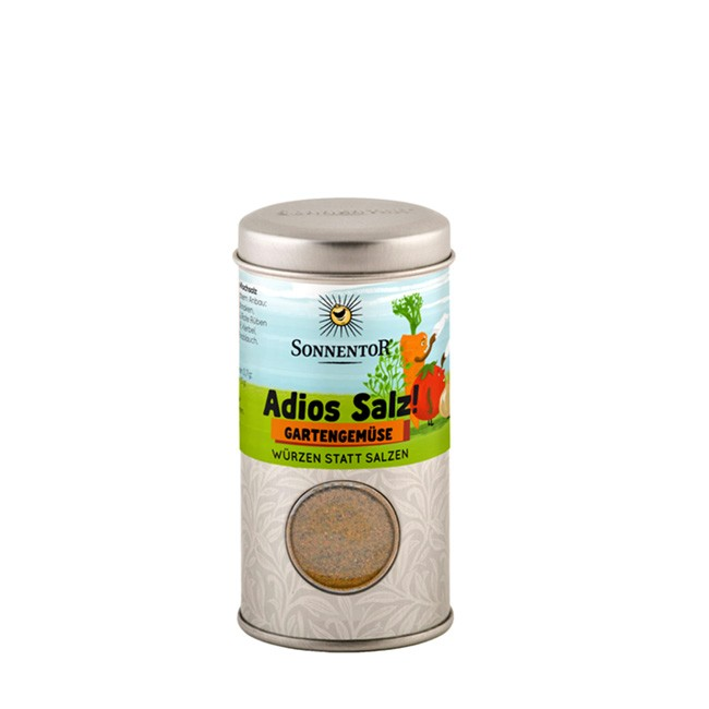 Bio Gewürzmischung ohne Salz - Adios Salz! Gartengemüse von Sonnentor