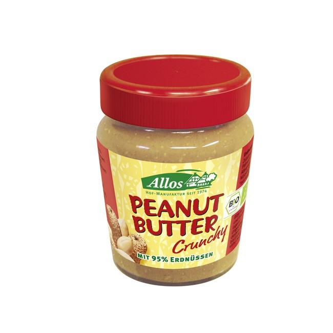 Bio Erdnussbutter Crunchy von Allos (227g)