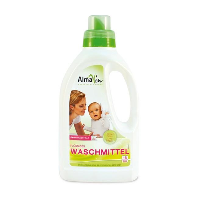 Alma Win Öko Flüssigwaschmittel für 16 Waschladungen - bio und vegan