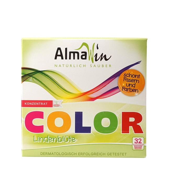 Color Waschpulver mit Öko Garantie von AlmaWin 1kg Pack
