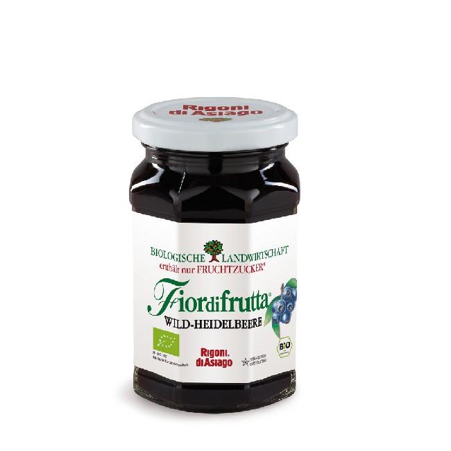 Bio Wildheildelbeer Fruchtaufstrich von Fiordifrutta - frisch aus Italien aus dem Hause Rigoni di Asiago