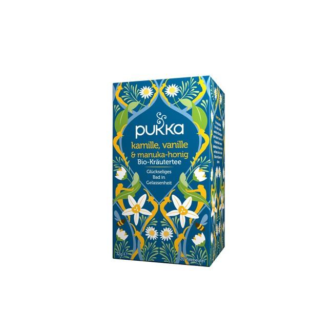 Pukka Vanille und Manuka Honig Tee (20 Teebeutel)