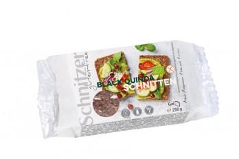 Schnitzer : Glutenfreie Black Quinoa Schnitten, bio (250g)