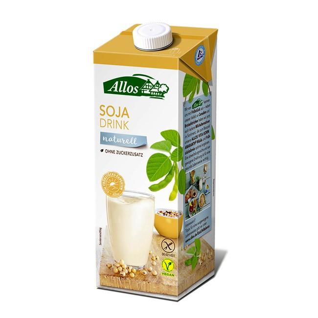Bio Sojadrink (1l) naturell von ALLOS