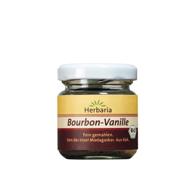 Bio Bourbon Vanille (10g) im Gläschen von HERBARIA