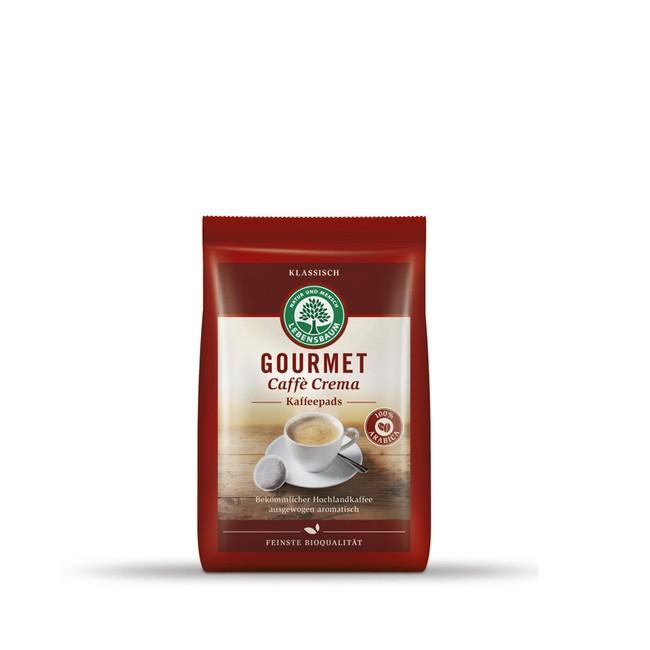 lebensbaum Kaffeepads Bio Gourmet caffee crema (18 Stück)