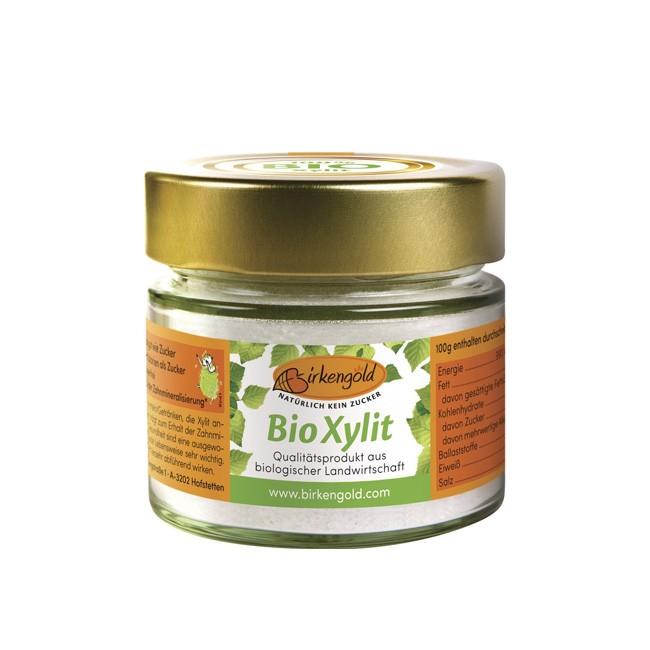Birkengold feinstes Bio Xylit im handlichen Glas zur Probierportion (140g)
