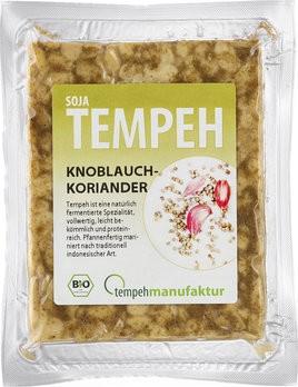 tempehmanufaktur : Soja-Tempeh Knoblauch-Koriander, bio (200g)