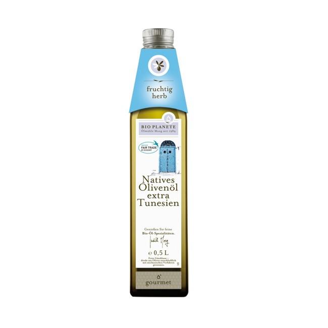 tunesisches Olivenöl extra vergine von Bio Planéte (500ml)