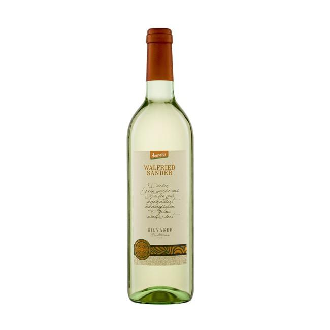 Walfried Sander Silvaner Demeter Weißweinvon Riegel Bio-Weine ausgewogener Wein Ideal fürs Picknick mit Freunden, Geschmack animierend, frisch, inspirierend