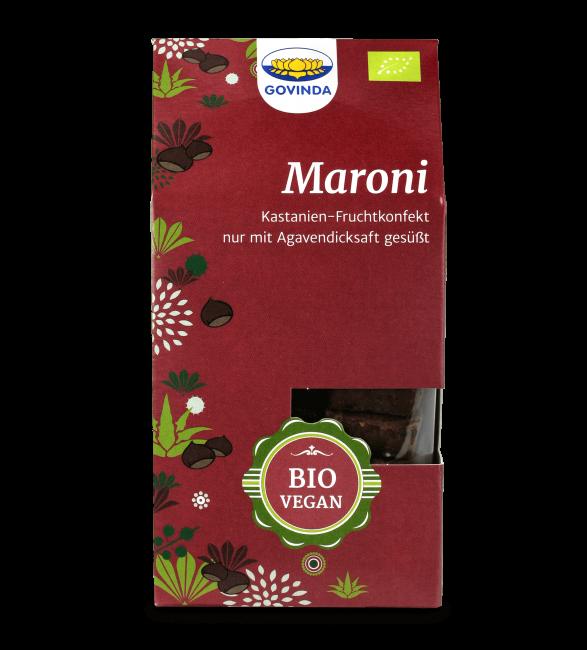 Govinda : Maroni Konfekt, bio (100g)