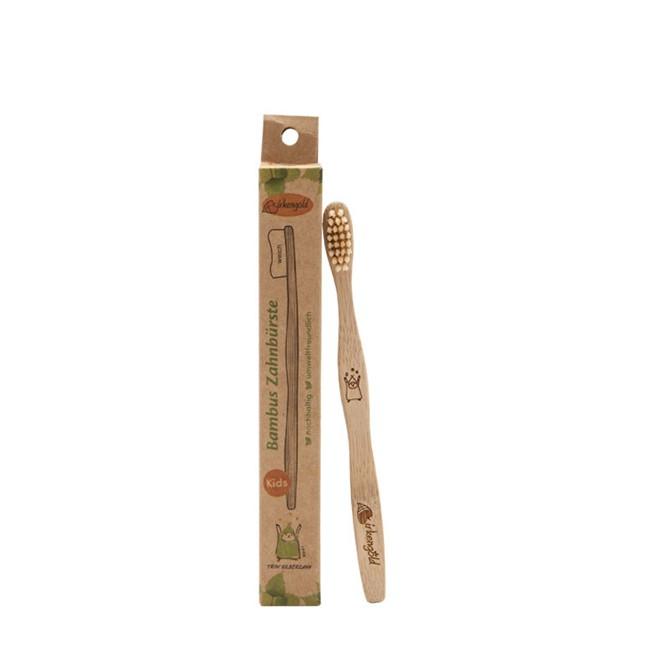 Kinder Zahnbürste aus Bambus - von Birkengold