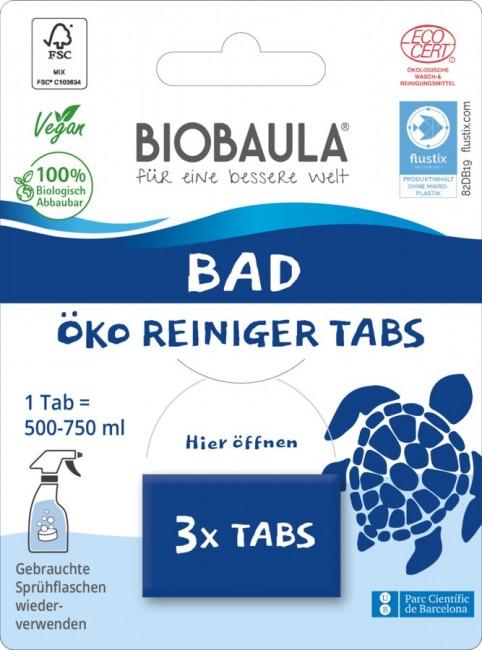 Biobaula : Badreiniger-Tabs, bio (3 Tabs)