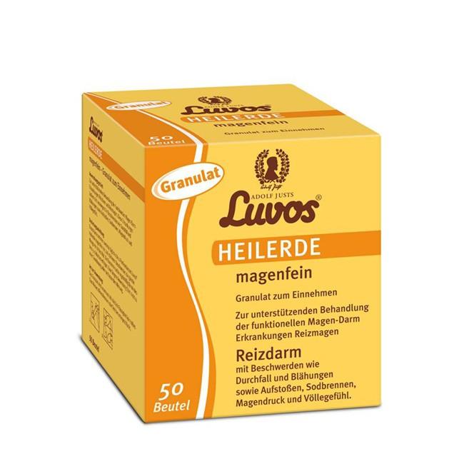 50 Portionsbeutel Heilerde Granulat magenfein von Luvos