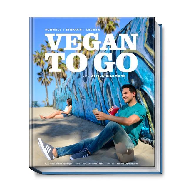 Vegan to Go Buch mit über 100 veganen Rezepten