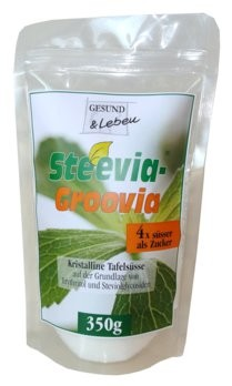 Gesund und Leben : Steevia Groovia Tafelsüße (350g)