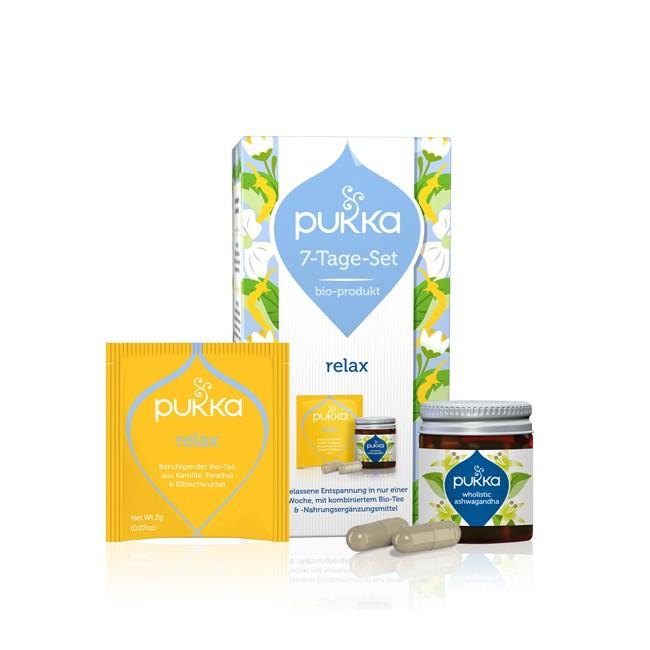 Pukka Relax 7-Tage Set