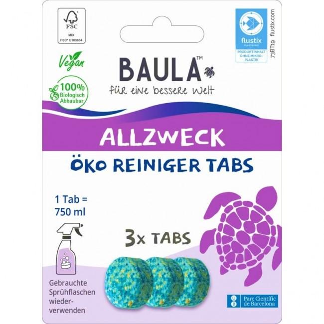 Biobaula : 3 Allzweckreiniger-Tabs, bio (3 Tabs)