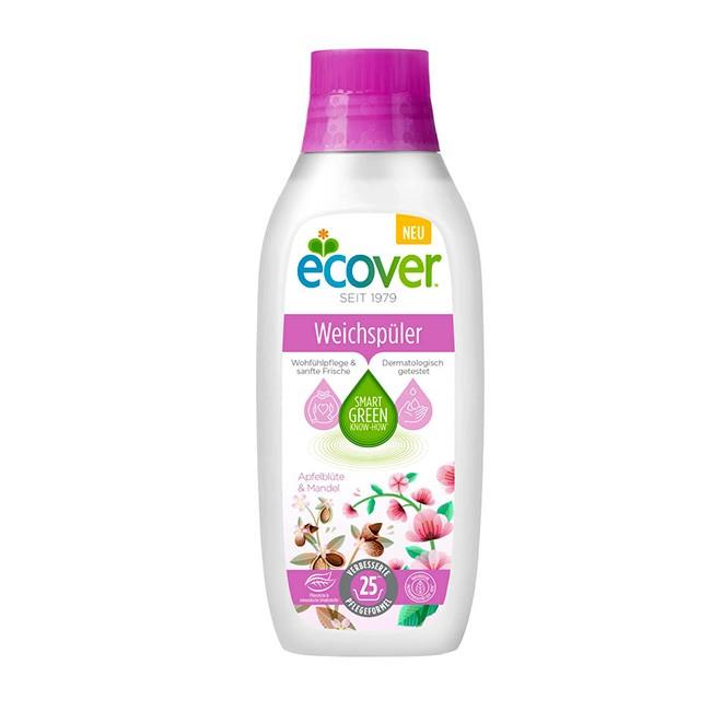 Ecover Weichspüler 750ml - mit sanften Duft nach Apfelblüte und Mandel