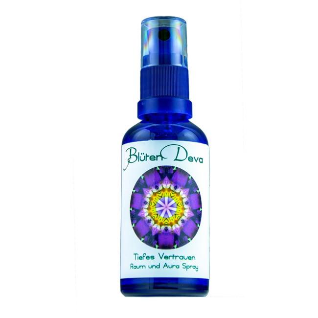 Blüten Deva Tiefes Vertrauen Auraspray 50ml
