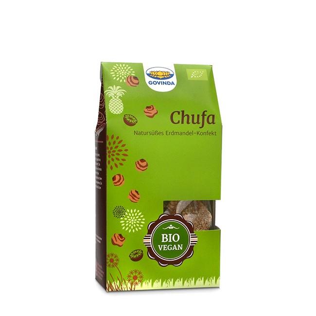 Chufa Konfekt vegan und glutenfrei - aus Datteln, Erdmandeln und Ananas