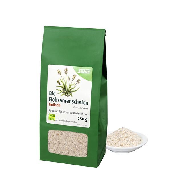 SALUS Flohsamenschalen in Bio Qualität (250g - Tüte)