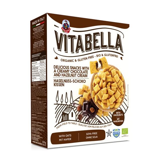 Vitabella Schoko Kissen glutenfreie Frühstückscerealien - 300g - BIO Qualität