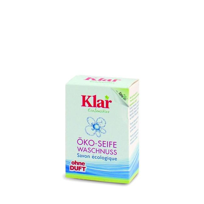 Waschnuss Seife von KLAR - Seife zum Waschen ohne Duft - hautfreundlich